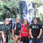 Camp Artemis Visiting Big Basin's Berry Falls During a Backpacking Trek